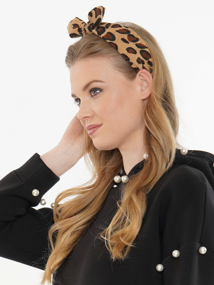 LEOPARD HEAD BAND | Why Dress