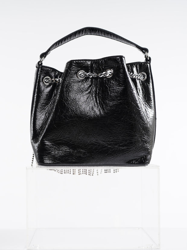 FRINGE LEATHER BAG | Why Dress