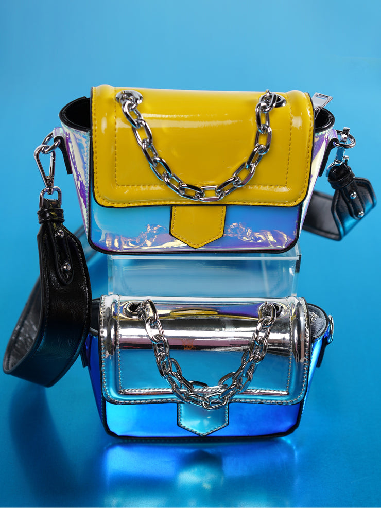 RAINBOW TRANSPARENT BAG | Why Dress