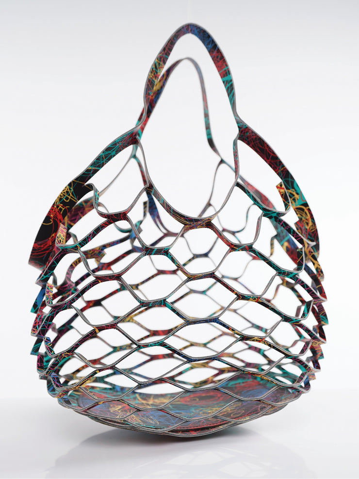 LEATHER MESH BAG | Why Dress