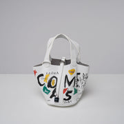GRAFFITI CROSSBODY LEATHER HANDBAG | Why Dress