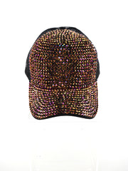 CRYSTAL STUDDED RHINESTONE CAP | Why Dress
