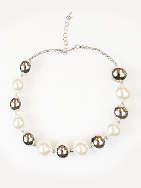 PEARL ROUND NECKLACE | Why Dress