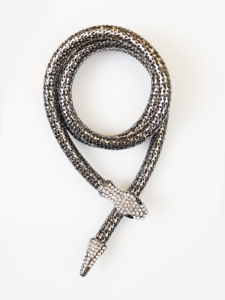 LONG SNAKE NECKLACE | Why Dress