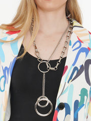 HANDCUFFS WITH CHAIN NECKLACE | Why Dress