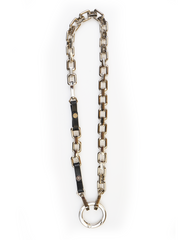 BOLD CHAIN WITH HANDCUFF NECKLACE | Why Dress