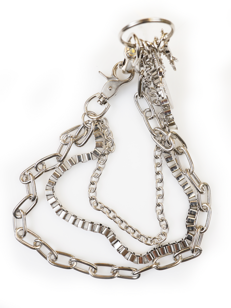 BOLD SILVER CHAIN NECKLACE | Why Dress