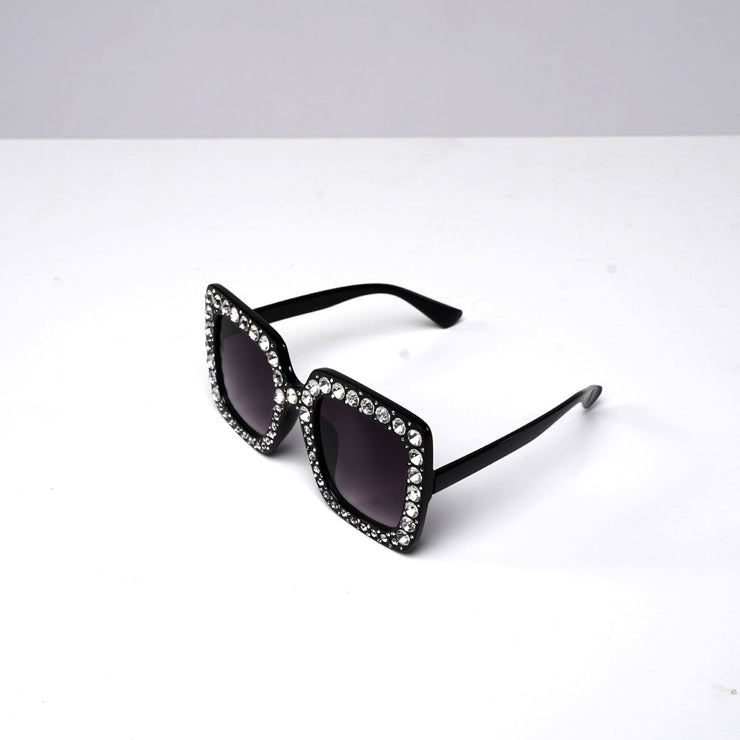 DIAMOND RHINESTONE SUNGLASSES | Why Dress