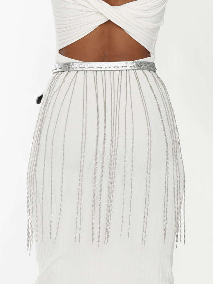 WATERFALL FRINGE BELT | Why Dress
