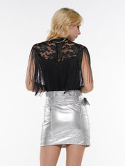 STONE CARGO POCKET BELTED LEATHER MINI SKIRT | Why Dress