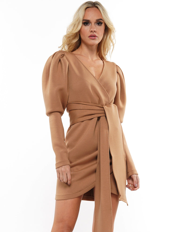 CLAP BACK LONG SLEEVE MINI DRESS | Why Dress
