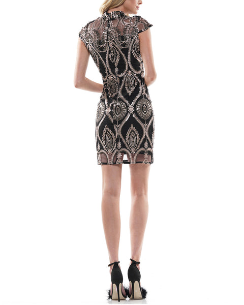 SLEEVELESS SKIRT EMBROIDERY PRINT DRESS | Why Dress