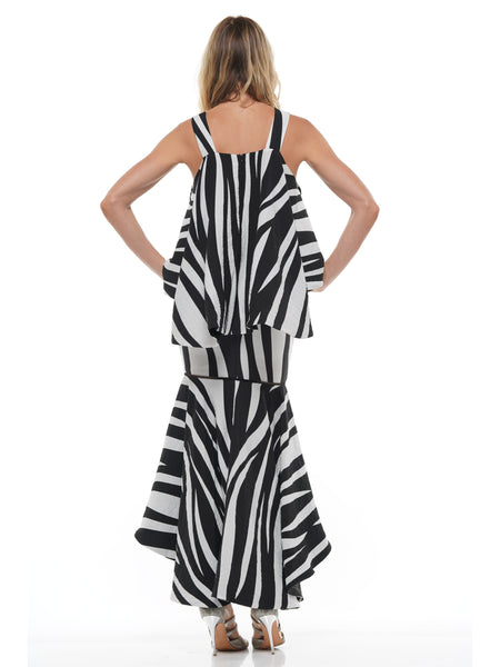 ZEBRA STRAP DRESS SUIT | Why Dress