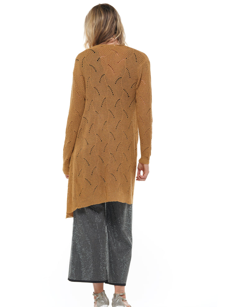 MD-LONG KNITTED CARDIGAN SWEATERS COAT | Why Dress