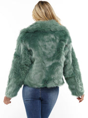 FAUX FUR CROP JACKET | Why Dress