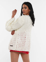 NOT WAITING FOR YOU SWEATER JACKET | Why Dress