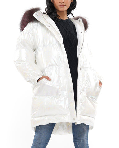 Winter chic puffer coat
