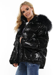 Winter Chic Short Puffer Jacket | Why Dress