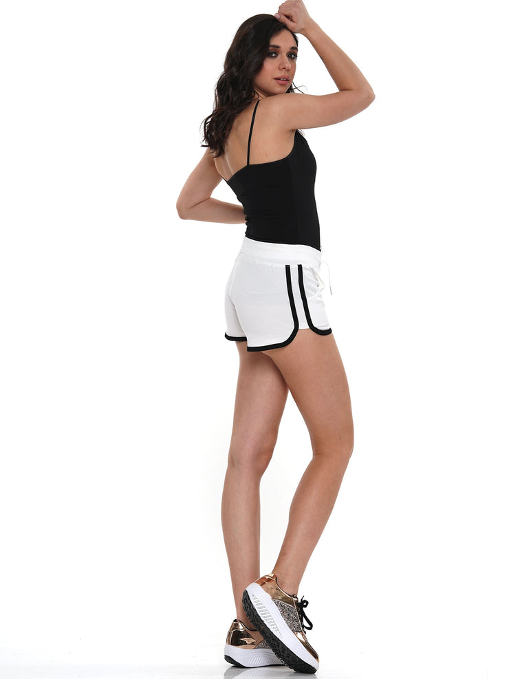 WOMEN'S COTTON GYM SHORTS | Why Dress