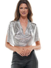 ALUMINUM SHEET SKIRT | Why Dress