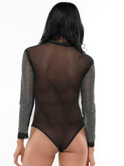 HEATSTONES SEE-THROUGH BODYSUIT | Why Dress