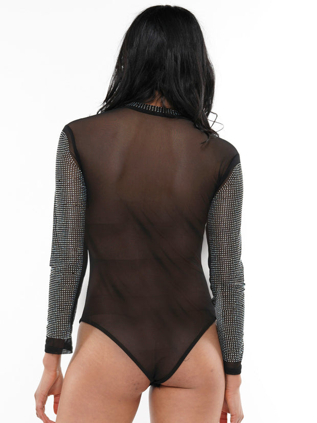 HEATSTONES SEE-THROUGH BODYSUIT