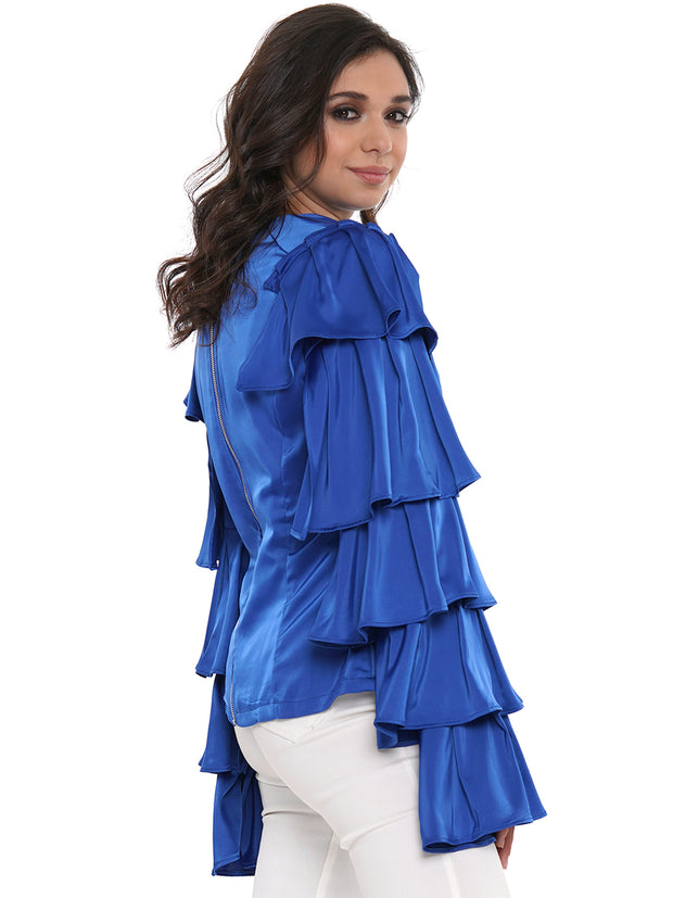 Ruffles As We Go Long Sleeve | Why Dress