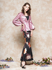 Floral pattern fashion long skirt | Why Dress