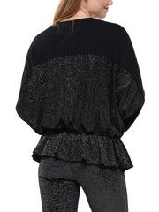 IRIDESCENT RHINESTONE SLITTED SLEEVE JACKET | Why Dress