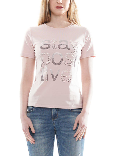 Stay Positive Basic T-shirt