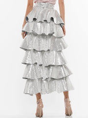STOP THE TIME SEQUIN SKIRT | Why Dress