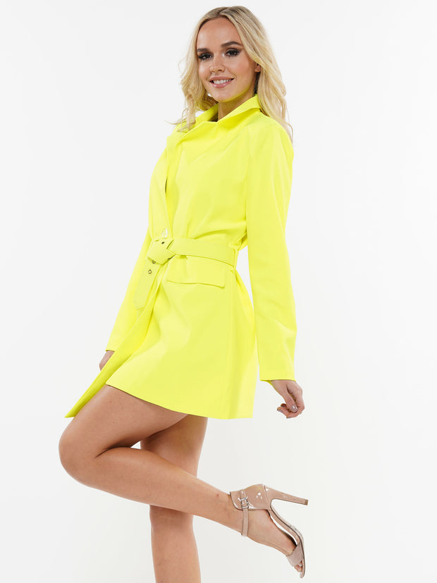 STOP STARING BLAZER MINI DRESS | Why Dress