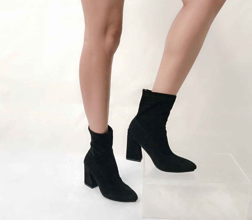 Avery suede boots