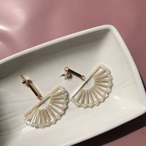 Marika Fan earrings