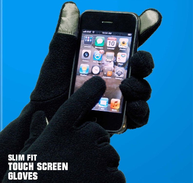 PolarEx® Essentials Slim Fit Touch Screen Gloves