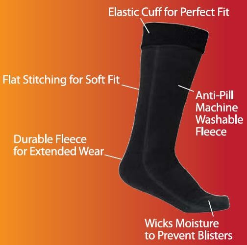 PolarEx® Storm-Tec® Fleece Socks, PolarEx®, Hot Headz International
