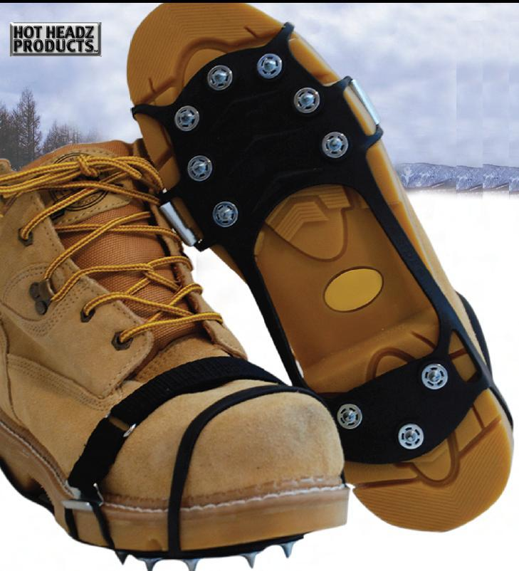 No-Slip Ice Cleats Extreme