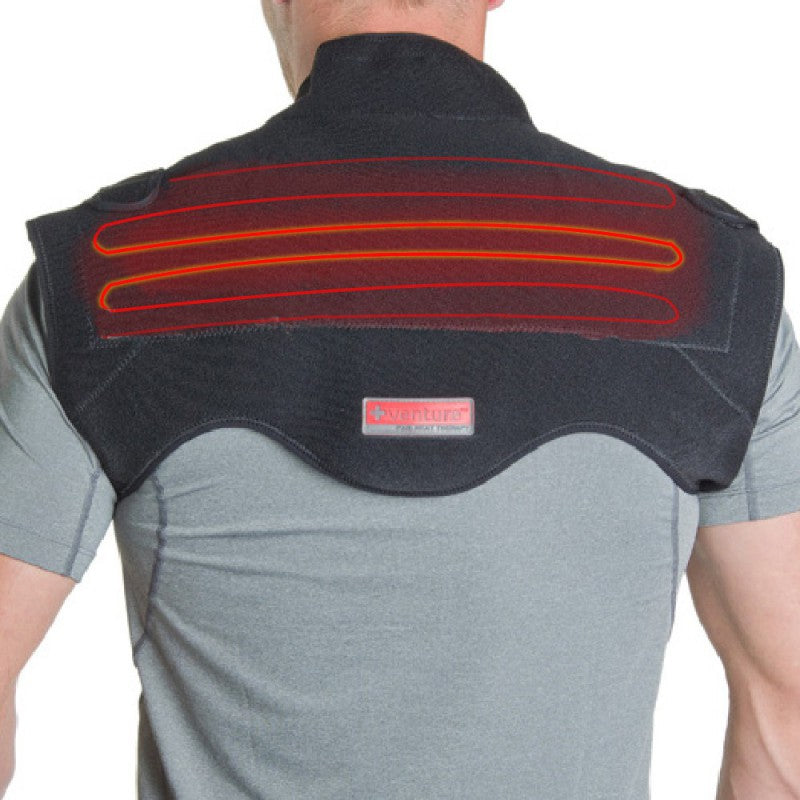 Venture Heat At-Home Therapy Neck and Shoulder Wrap