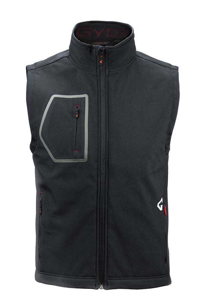 Gyde's Torrid Men's Softshell Vest <p>***Battery and Charger Sold Separately***</p>