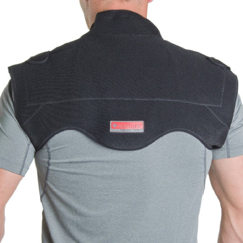 Venture Heat At-Home Heat Therapy Neck and Shoulder Wrap, venture heat, Hot Headz International