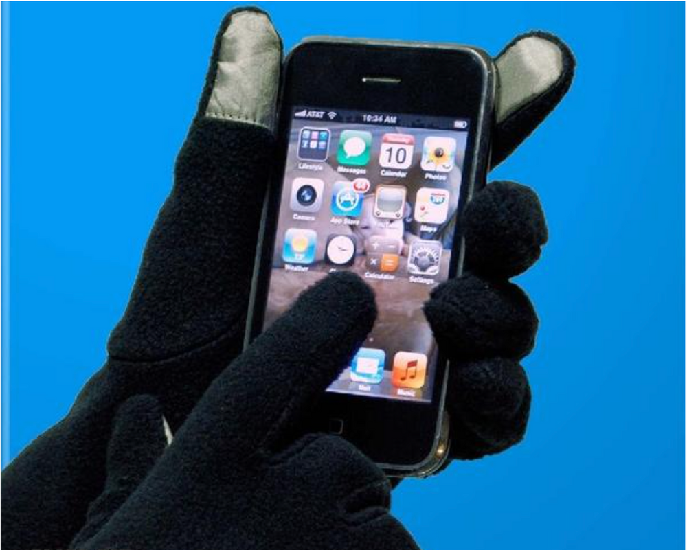 PolarEx® Essentials Fleece Texting Gloves
