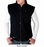 Venture Heat Battery Heated Fleece Vest for Men, venture heated clothing, Hot Headz International