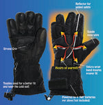 PolarEx Battery Heated Gloves