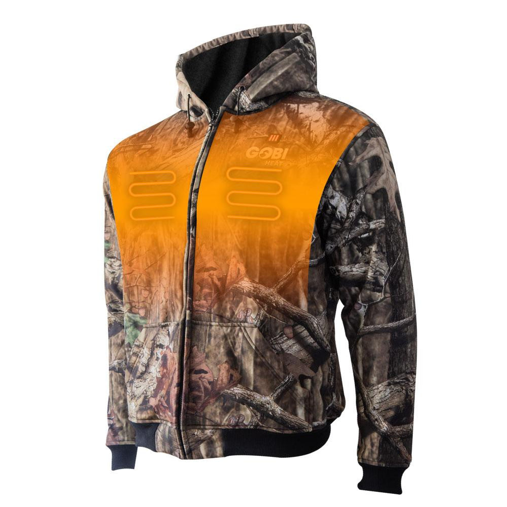 Shadow Men's Heated Hoodie - Officially Licensed Mossy Oak® Break-Up®