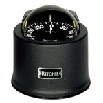 Ritchie SP-5-B GlobeMaster Compass - Pedestal Mount - Black - 5 Degree Card 12V [SP-5-B]