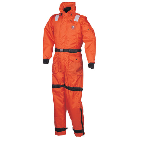 Mustang Deluxe Anti-Exposure Coverall & Worksuit - SM - Orange [MS2175-S-OR]