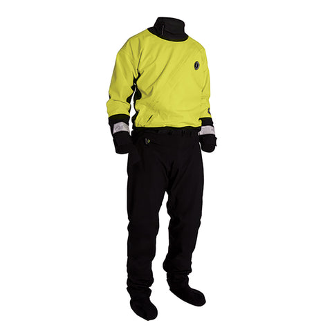 Mustang Water Rescue Dry Suit - XXL - Yellow-Black [MSD576-XXL]