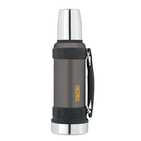 Thermos Work Series Vacuum Insulated Beverage Bottle - 40 oz. - Gunmetal Gray [2520GMTRI2]