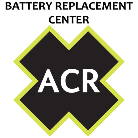 ACR FBRS 2880 & 2881 Battery Replacement Service - PLB-375 ResQLink-ResQLink+ [2880.91]