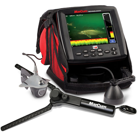 "MarCum LX-9 Digital Sonar-Camera System - 8"" LCD Dual Beam w-OSD Camera [LX-9]"